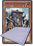 Yu Gi Oh! Single Card(1st Edition):SDWA-EN021 Elder Of The Six Samurai
