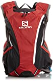 Salomon Skin Pro 14+3 Hydration Pack-Bright Red Asphalt White
