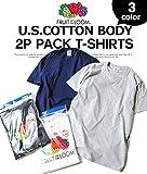フルーツオブザルーム (FRUIT OF THE LOOM) Tシャツ 2枚セット パックTシャツ メンズ