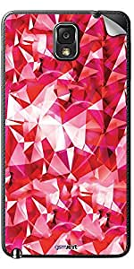 GsmKart SGN3 Mobile Skin for Samsung Galaxy Note 3 (Pink, Galaxy Note 3-338)