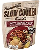 Campbell's, Slow Cooker Sauces, Apple Bourbon BBQ, 13oz Pouch (Pack of 6)