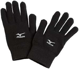 Mizuno Breath Thermo Run Glove, Black, Medium