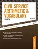 img - for Civil Service Arithmetic & Vocab, 15 E (Arco Civil Service Arithmetic & Vocabulary) book / textbook / text book