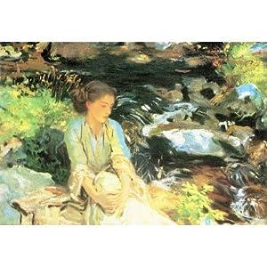 (13x19) John Singer Sargent The Black Creek Art Print Poster