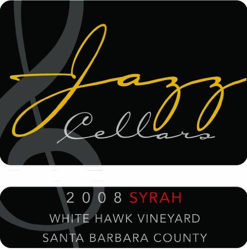 2008 Jazz Cellars White Hawk Vineyard Santa Barbara County Syrah 750 Ml