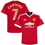 """Manchester United Home Cantona Jersey 2015 / 2016 (EPL """"Golden Great"""" Printing)"""