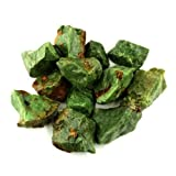 Crystal Allies Materials: 1lb Bulk Rough Chrysoprase Stones from Madagascar - Large 1