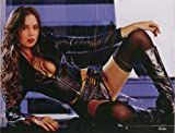 Eliza Dushku (Black Leather) 8.5