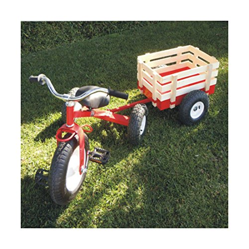 NewvClassic-Tricycle-with-Wagon-Set-Pull-Along-Trike-Toy-Outdoors-Kids-Exercise
