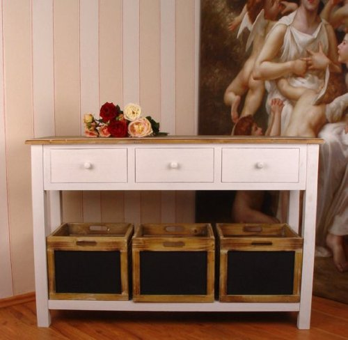 nostalgische anrichte sideboard antik weiss vintage palazzo exclusiv passt perfekt meiner. Black Bedroom Furniture Sets. Home Design Ideas