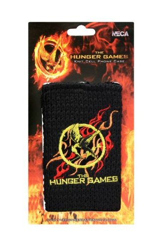"The Hunger Games Movie Phone Cover Knitted ""Mockingjay"""