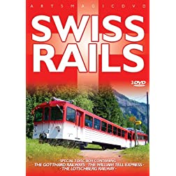 Swiss Rails (3 DVD)