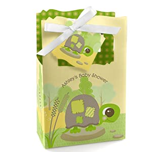 baby turtle personalized baby shower favor boxes toys