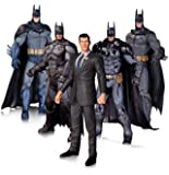 DC Collectibles Arkham Batman Action Figure (5-Pack)