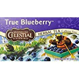 Celestial Seasonings Herb Tea, True Blueberry, 20-Count Tea Bags (Pack of 6) ~ Celestial Seasonings