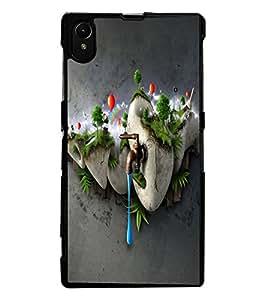 ColourCraft Creative Image Design Back Case Cover for SONY XPERIA Z1