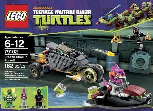 Imagen de LEGO Ninja Turtles Sigilo Shell en Persecución 79.102 niños, niños, juego
