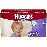 Huggies Little Movers Diapers, Size 6, 104 Count (Packaging May Vary)