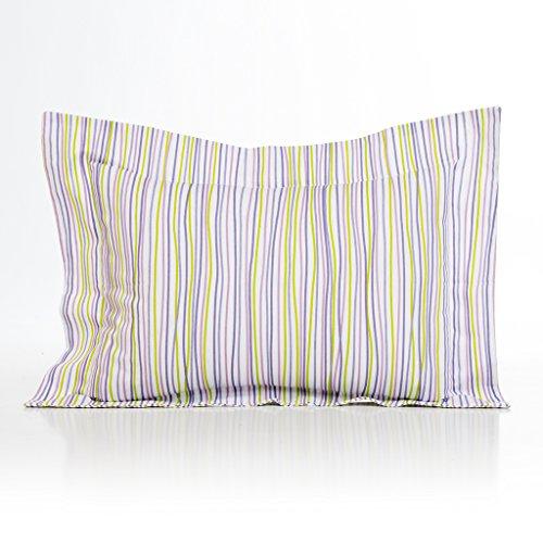 Sweet Potato Lulu Large Sham Bedding Set, White/Lavender/Green/Purple
