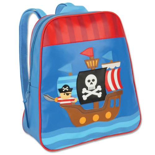 Stephen Joseph Little Boys' Go Go Bag, Pirate, One Size