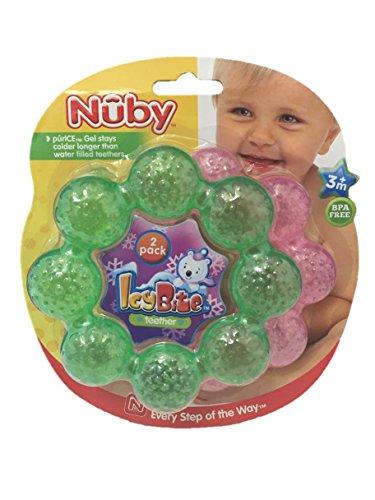 Nûby 2 Pack Icy Bite Teether