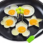 Neon� 5PCS Stainless Steel Fried Egg...