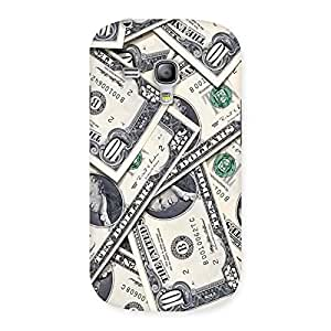Cool Bucks Back Case Cover for Galaxy S3 Mini