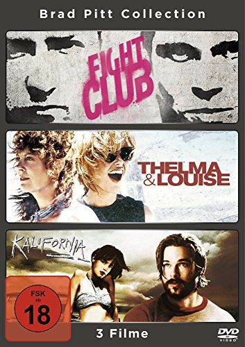 Fight Club / Thelma and Louise / Kalifornia [3 DVDs]