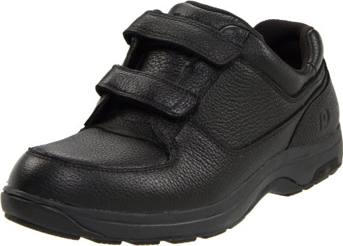 Old Man Black Velcro Shoes