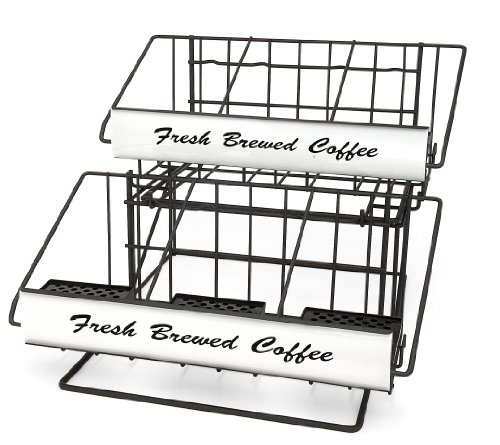 Grindmaster-Cecilware 70657 Airpot Rack, Black front-1074273