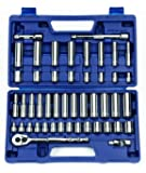 Williams 50666 3/8-Inch Drive Socket and Drive Tool Set, 47-Piece