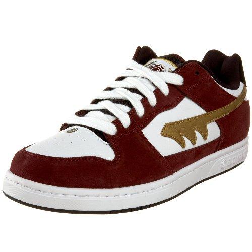 Element Men's Wray Skate Shoe,Sienna/White,6 M US