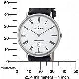 Edox Men's 27028 3P BR Les Genevez Ultra Slim Watch