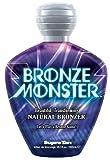 Supre BRONZE MONSTER Natural Streak-free Bronzer Tanning Lotion 10.1 oz.