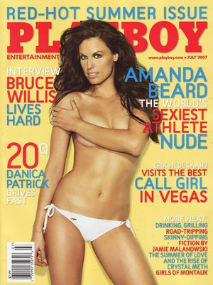 Buy 2007 Amanda Beard Danica Patrick Playboy magazine by Playboy