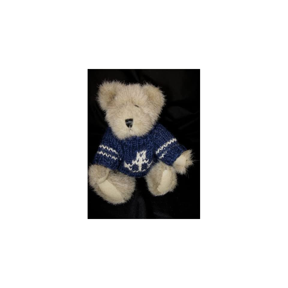 Boyds Bears Christian 8 Plush Bear in Nautical Sweater