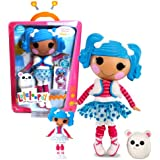 """MGA Entertainment Lalaloopsy """"Sew Magical! Sew Cute!"""" Limited Edition 12 Inch Tall Button Doll - Mittens Fluff 'N' Stuff with Pet """"Polar Bear"""" and Bonus Mini 3 Inch Doll"""