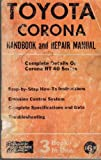 Toyota Corona Handbook and Repair Manual Complete Details on Corona Rt 40 Series 3 Books in One. Clymer