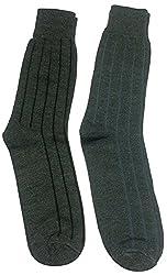 Graceway Unisex Woolen Socks - Set Of 2 Socks (5Su8)
