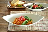 【M'home style】白い食器 イタリアンリーフディッシュL(ロゴ入り) ホワイトレベル2