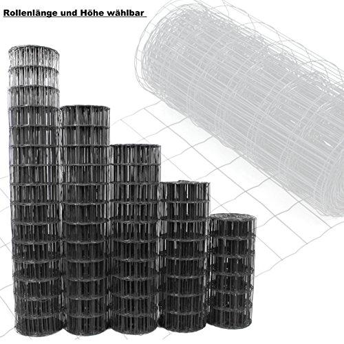 gartenzaun anthrazit h he und l nge w hlbar kostenloser versand maschendraht zaun. Black Bedroom Furniture Sets. Home Design Ideas