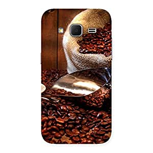 Delighted Coffee Beans Brown Back Case Cover for Galaxy Core Prime