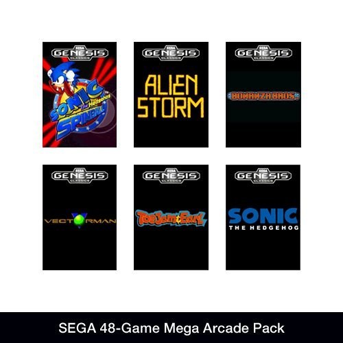 Get SEGA 48-Game Mega Arcade Pack [Online Game Code]