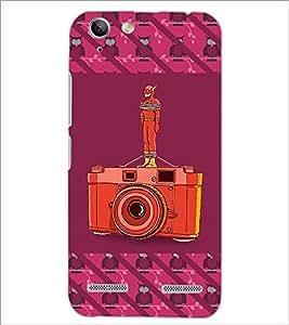PrintDhaba Camera D-3259 Back Case Cover for LENOVO VIBE K5 PLUS (Multi-Coloured)