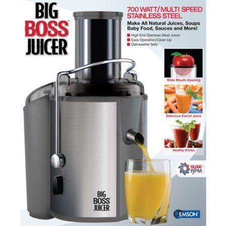 As Seen on TV Big Boss Juicer , Save Money. Live Better. (Inexpensive Juicers compare prices)