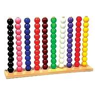Skillofun Senior Abacus (10-10), Multi Color