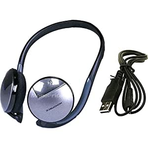 Monoprice Bluetooth Wireless Stereo Headset - Gray