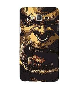 Alien Design 3D Hard Polycarbonate Designer Back Case Cover for Samsung Galaxy On5 Pro :: Samsung Galaxy ON 5 Pro