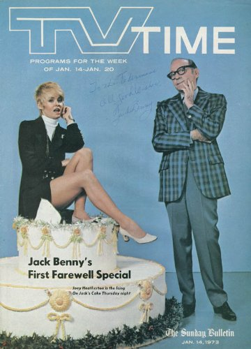 Jack Benny - Inscribed Magazine Cover Signed front-1034833