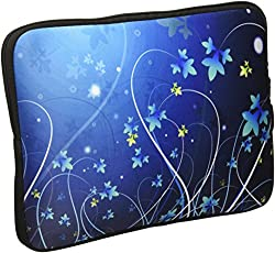 Amzer 10.5 Inch Neoprene Sleeve Midnight Lily for Apple iPad Air, Apple iPad 4, Apple iPad 2